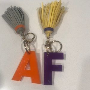 Accessories - Initial lanyards